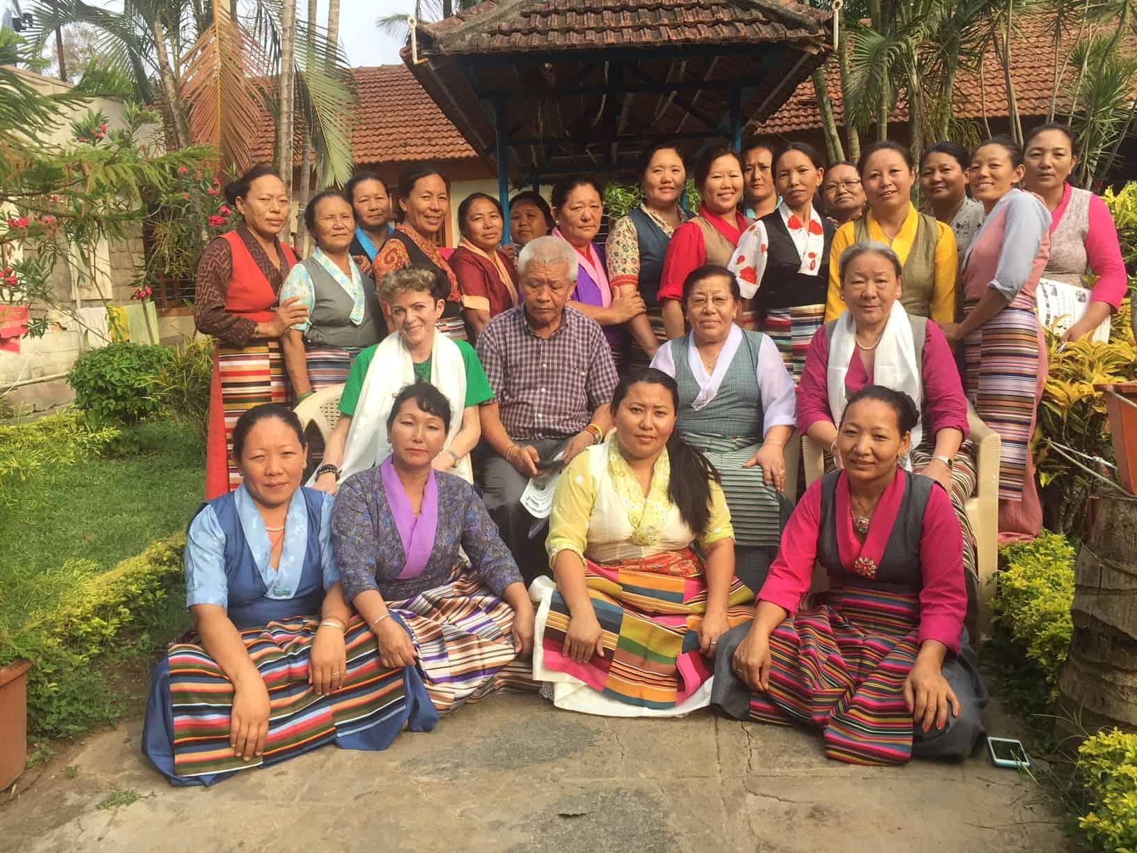 Jetsün Pema-la, die Schwester Sh des Dalai Lama hat die TCV's lange geleitet