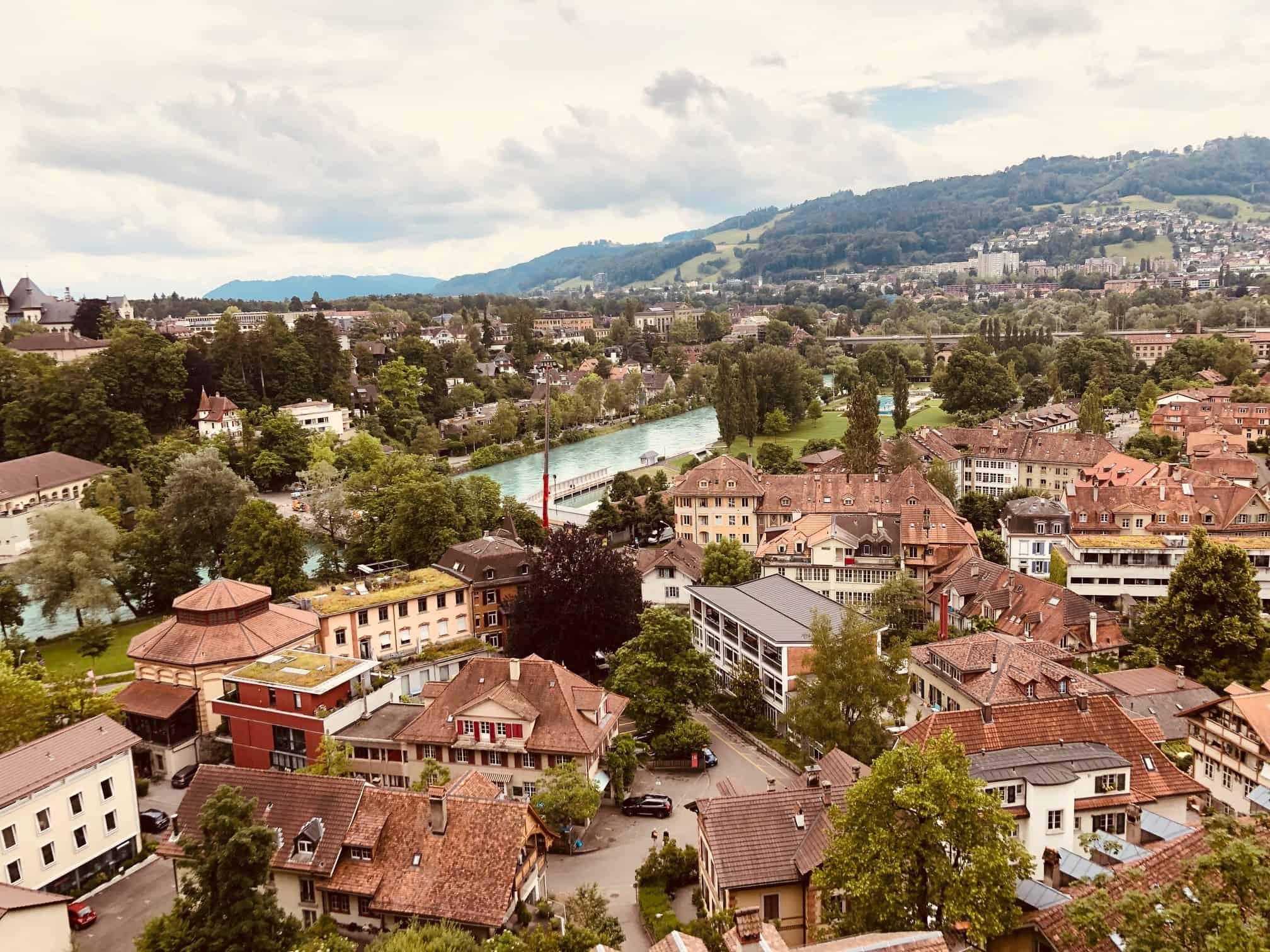 Blick über die Altstadt und Aare
